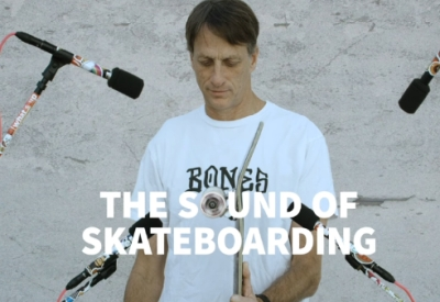 The Sound Of Skateboarding - Tony Hawk